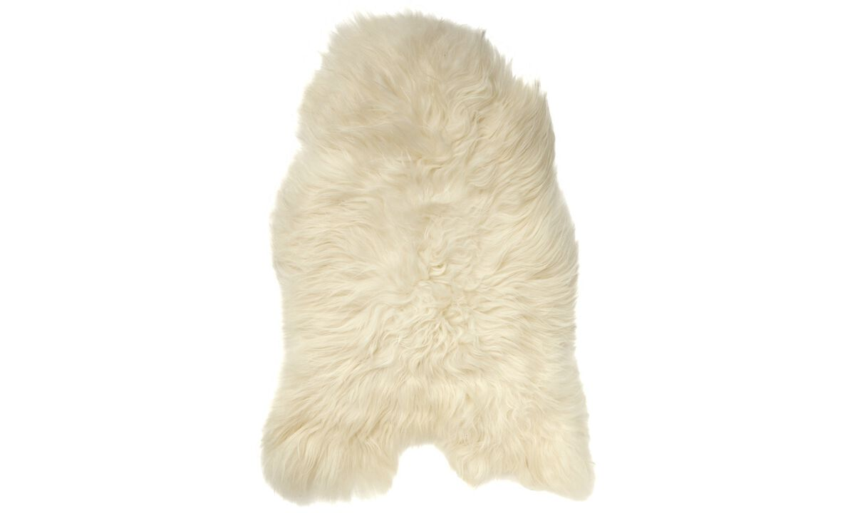 Throws & bedspreads - Sheepskin - White - Sheepskin