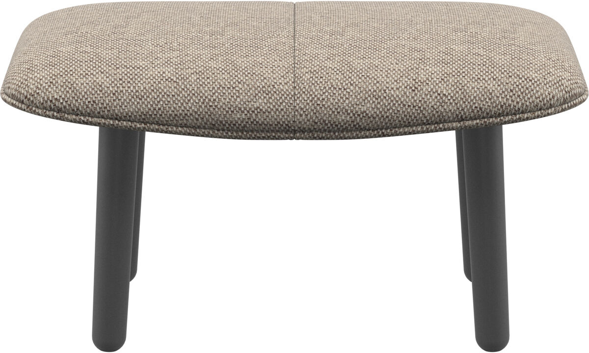 Ottomans - fusion footstool - Beige - Fabric