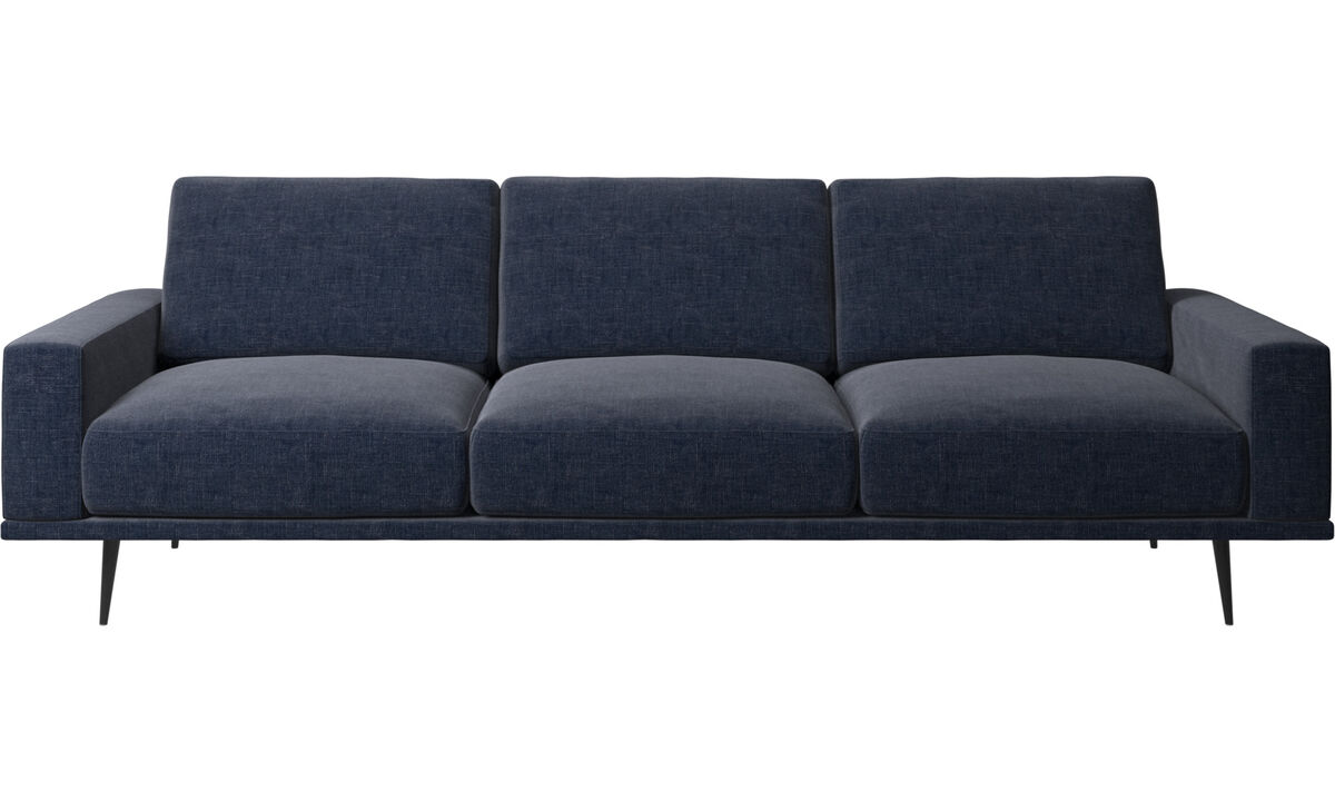 3 seater sofas - Carlton sofa - Blue - Fabric