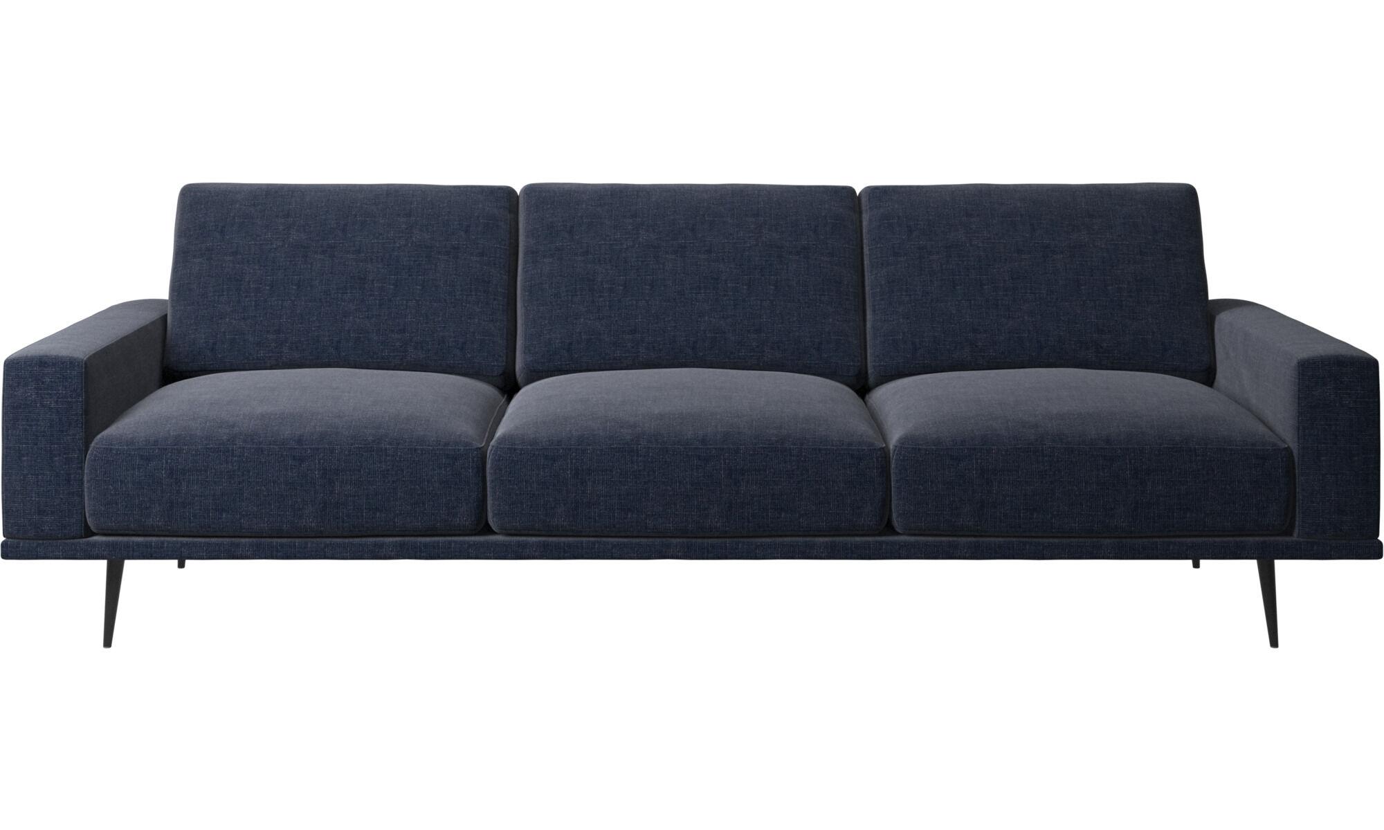 3 Sitzer Sofas   Carlton Sofa   Blau   Stoff ...