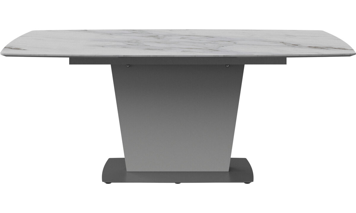 Dining tables - Milano table - rectangular - White - Ceramic