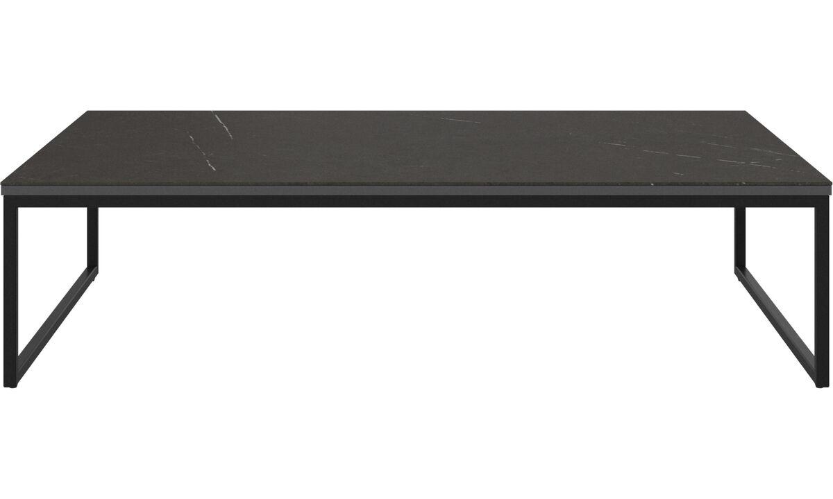 Mesas de centro - mesa de centro Lugo - rectangular - En negro - Roble