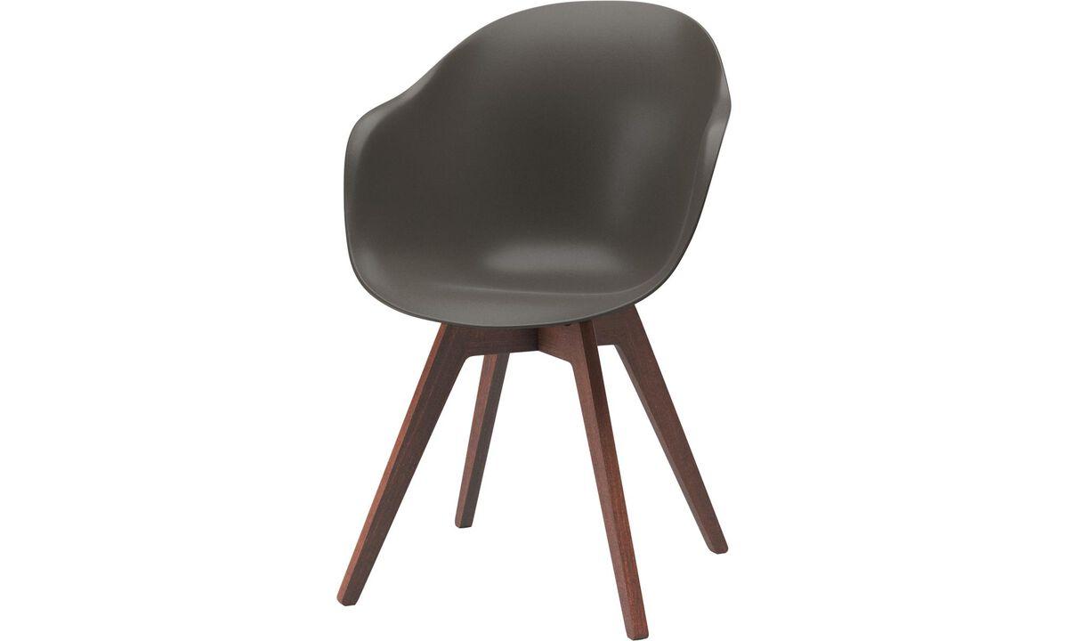 Cadeiras de área externa - Cadeira Adelaide (para utilização no interior e exterior) - Verde - Plástico