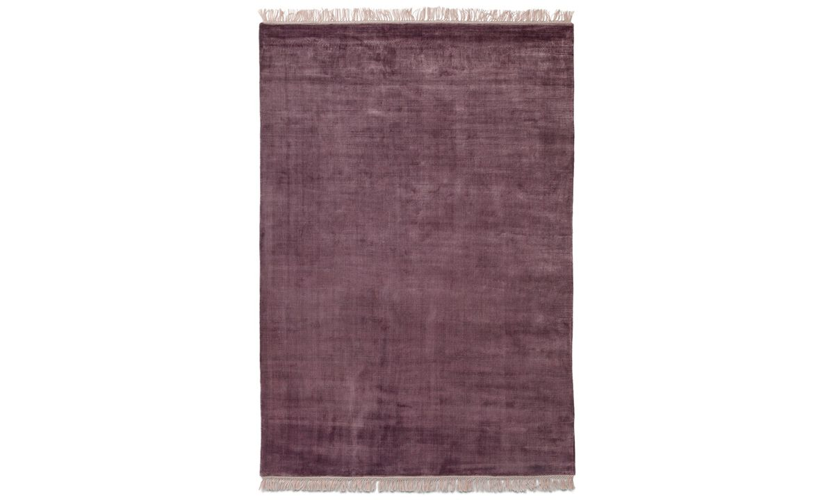 Rectangular rugs - Totoki rug - rectangular - Red - Fabric