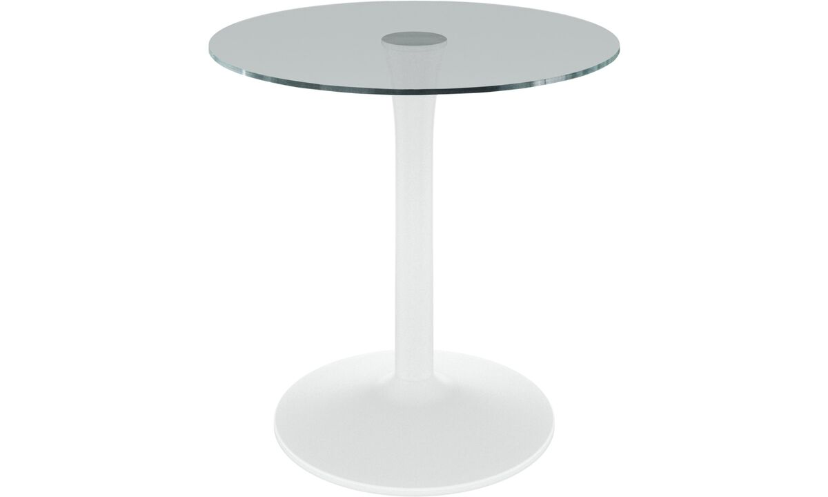 Dining tables - New York tavolo - rotonda - Chiaro - Cristallo