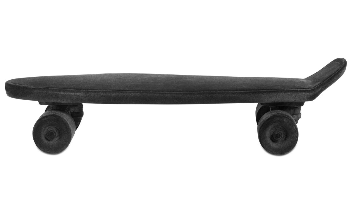 Sculptures - Skateboard sculpture - Black - Plastic