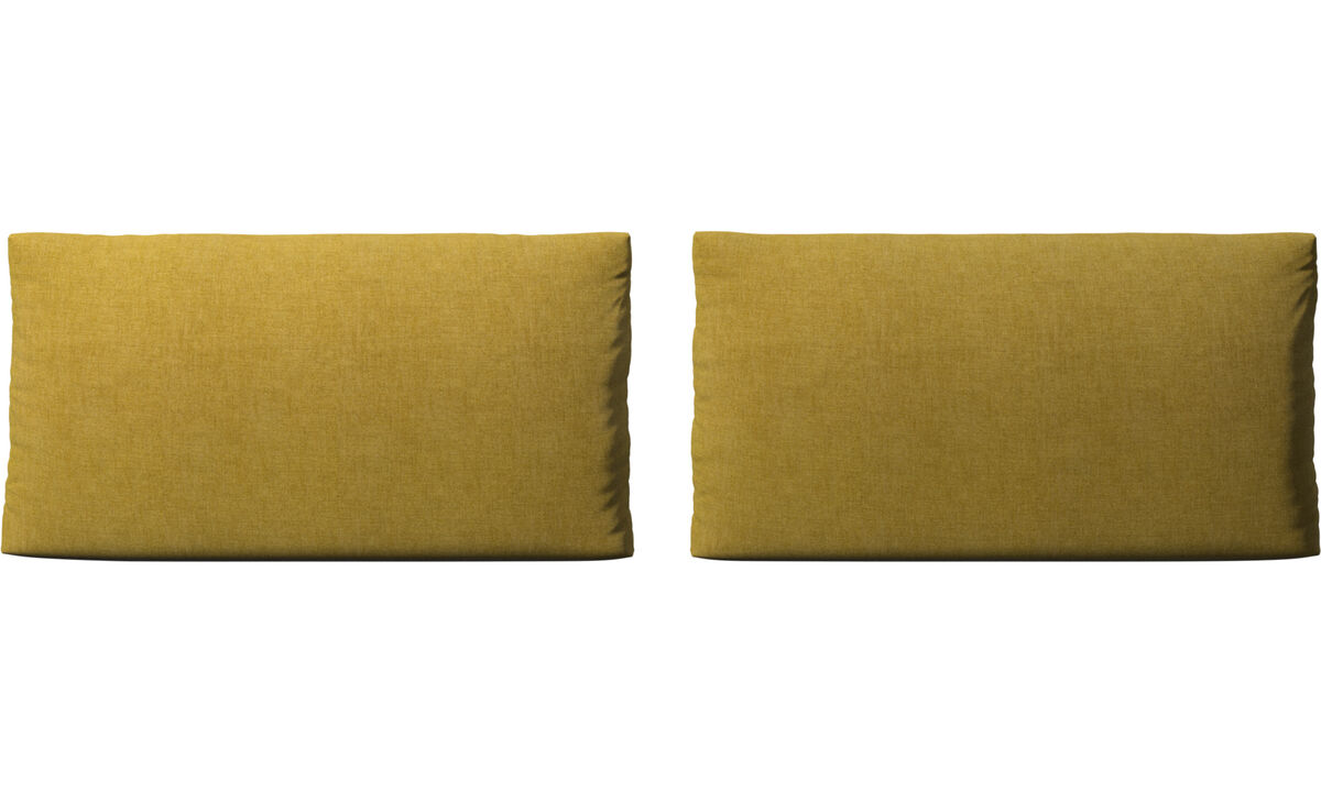 Furniture accessories - Nantes sofa cushions - Yellow - Fabric