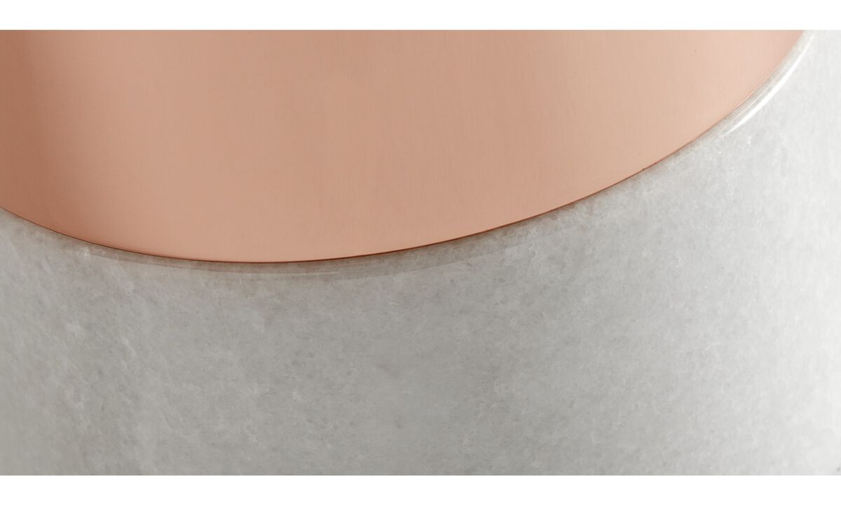 Luminária de mesa - luminária de mesa Stockholm - Laranja - Vidro