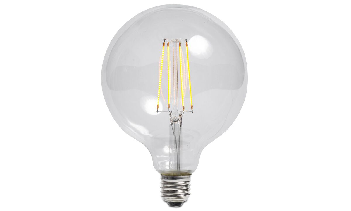 Luminaires - Ampoule Globe large pour suspension Lotus