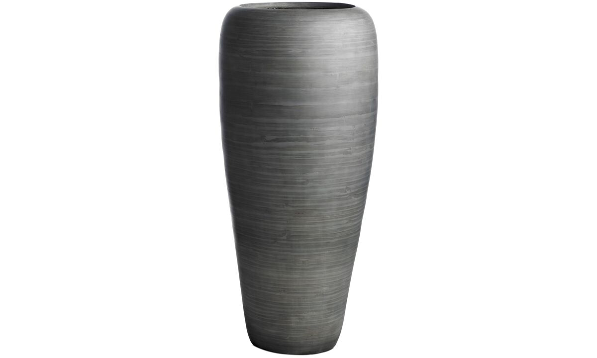 Vases - Liva vase - Gray - Wood