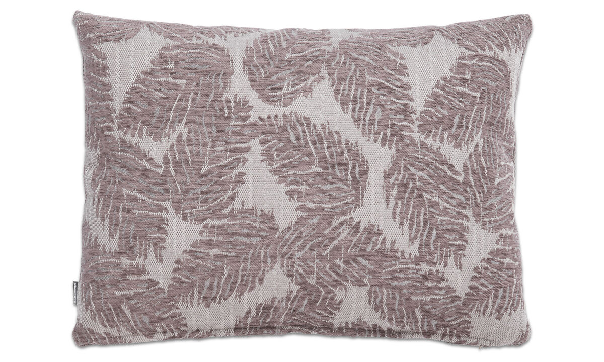 Patterned cushions - Oak cushion - Grey - Fabric
