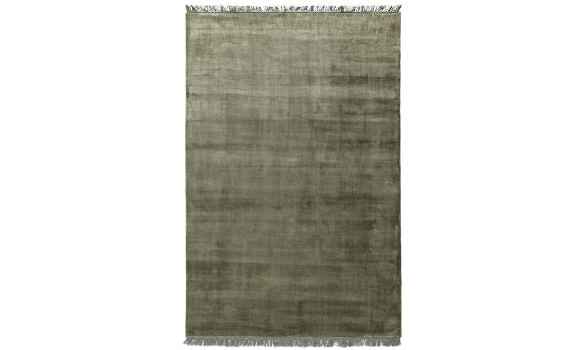 Rectangular rugs - Totoki rug - rectangular - Green - Fabric