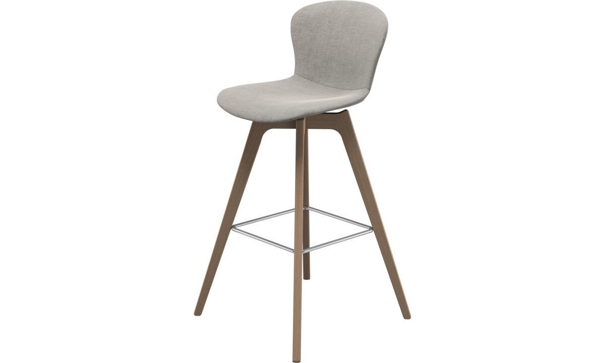 Bar stools - Adelaide barstool - Grey - Fabric