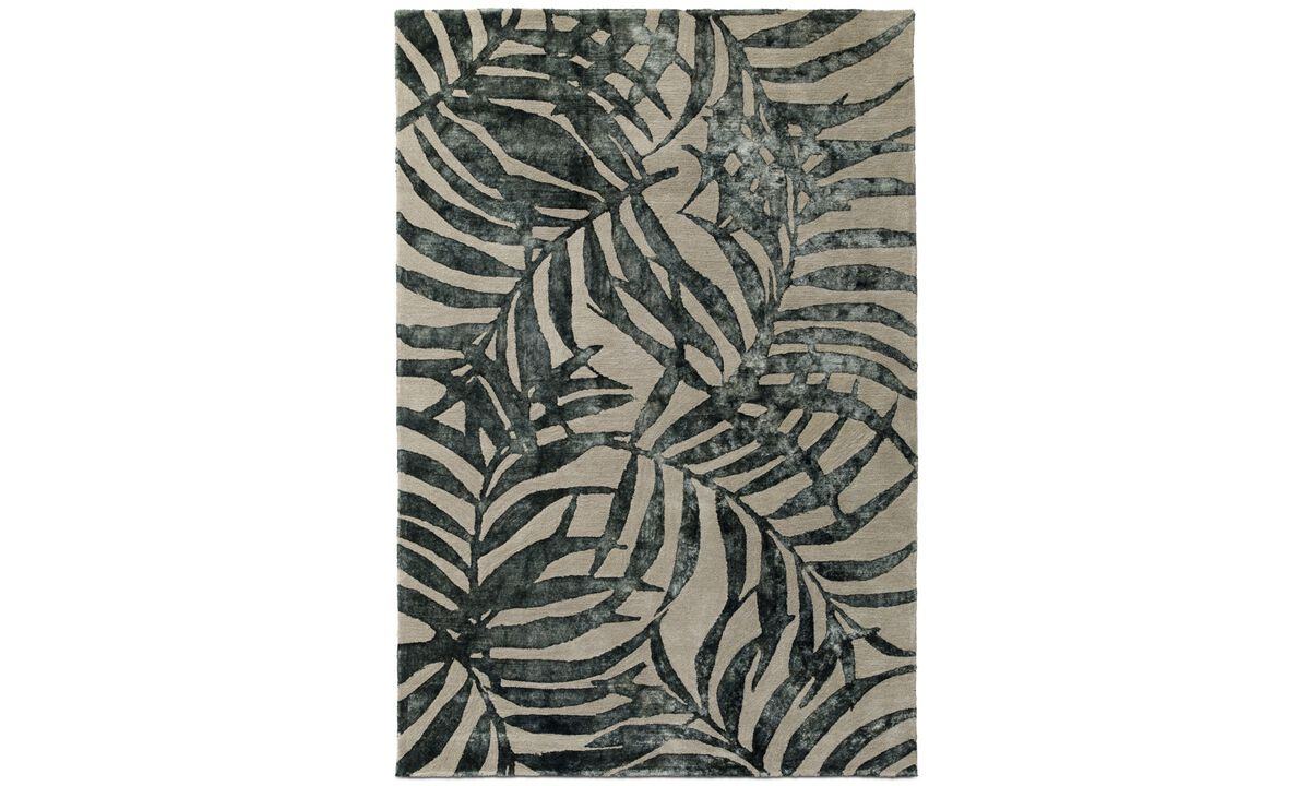 Rectangular rugs - Dax rug - rectangular - Grey - Fabric