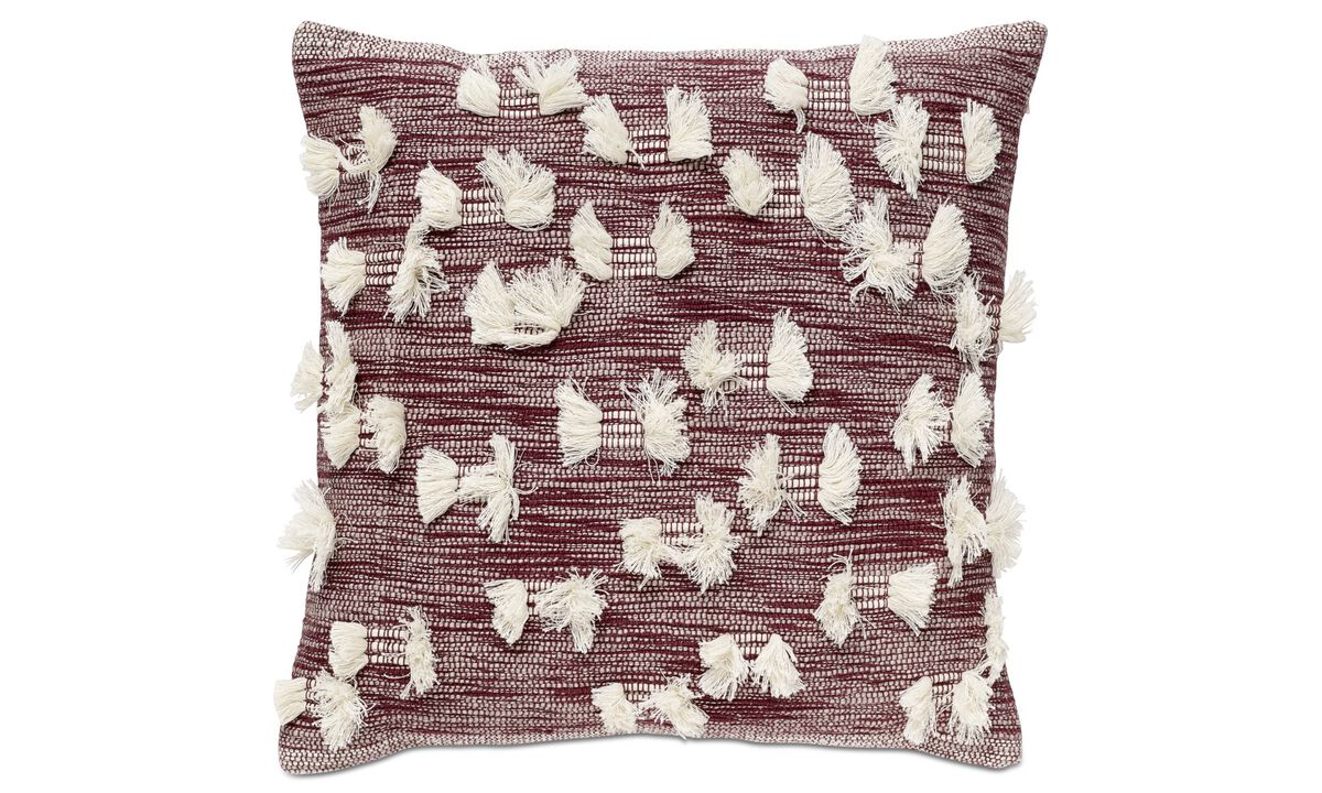 Patterned cushions - Fringes cushion - Fabric