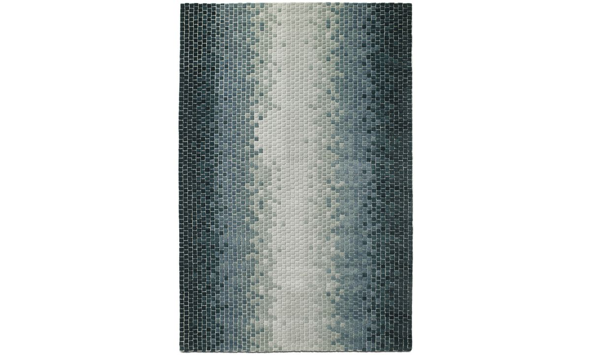 Rectangular rugs - Conda rug - rectangular - Blue - Fabric