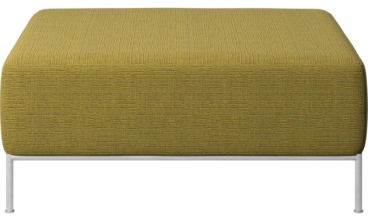 Modulære sofaer - Miami puf - Gul - Stof