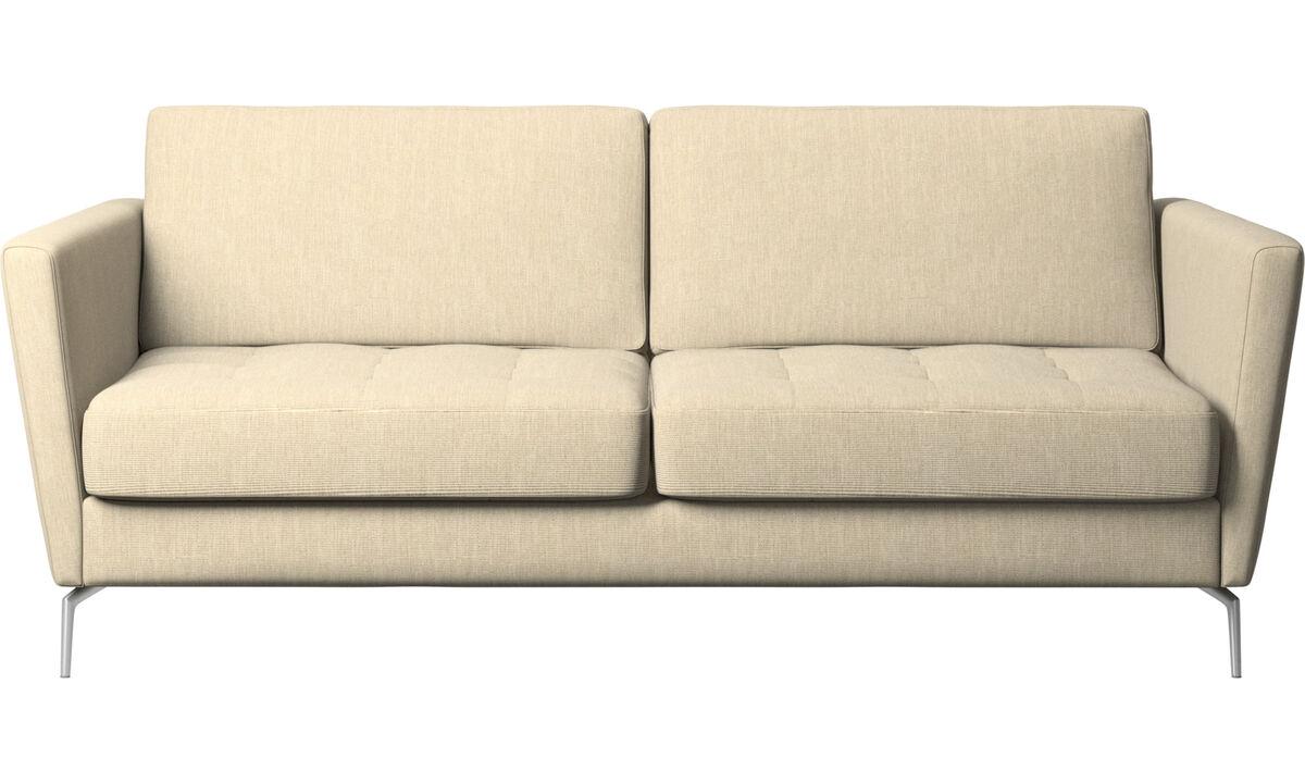 沙发床 - Osaka 沙发床, 簇绒坐垫 - 褐色 - 布艺