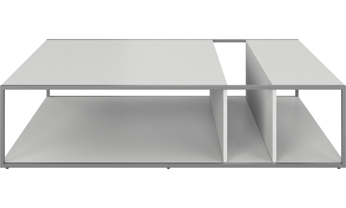 Coffee tables - Philadelphia coffee table - rectangular - White