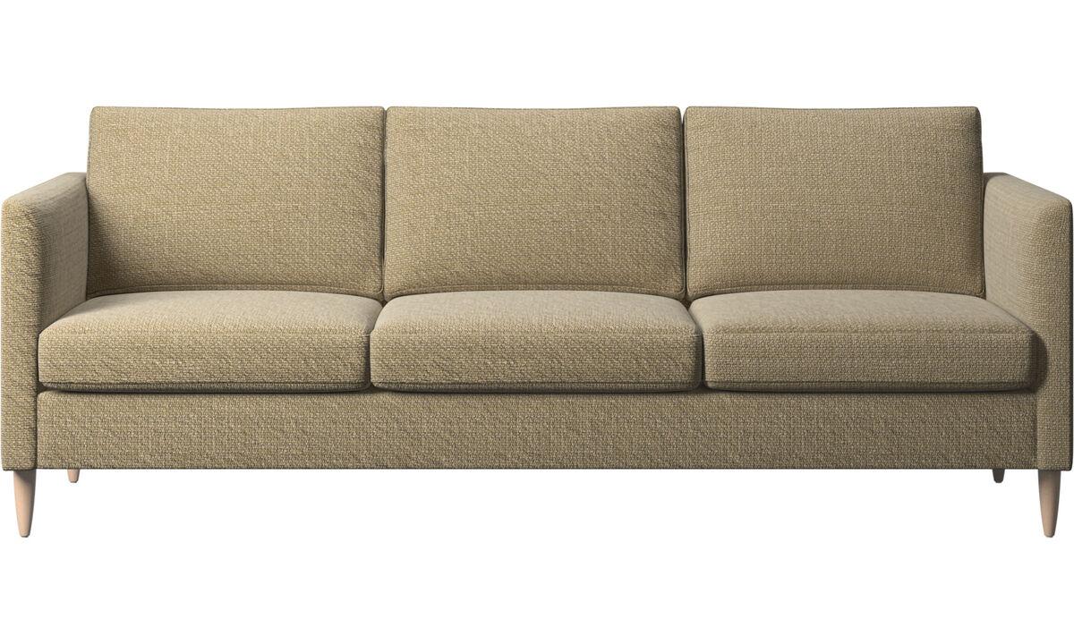 3 seater sofas - Indivi sofa - Yellow - Fabric