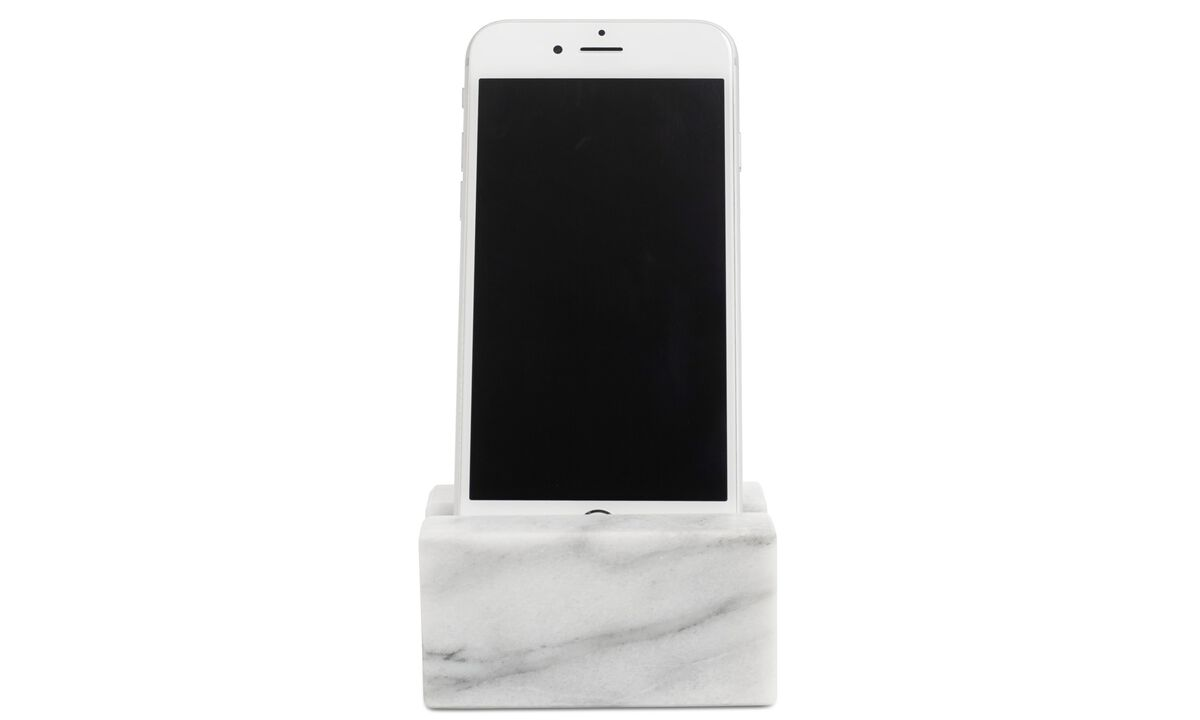 Functional accessories - Living iPhone holder (5, 6, 6+) - Stone