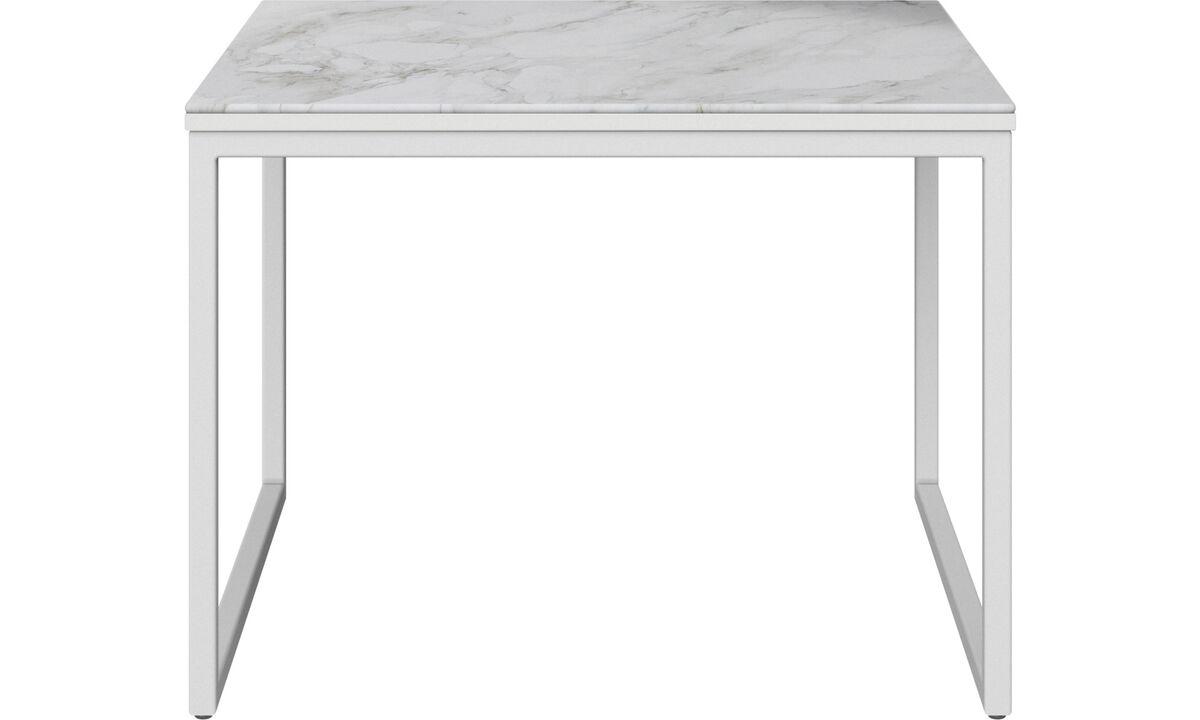 Coffee tables - Lugo coffee table - rectangular - White - Oak