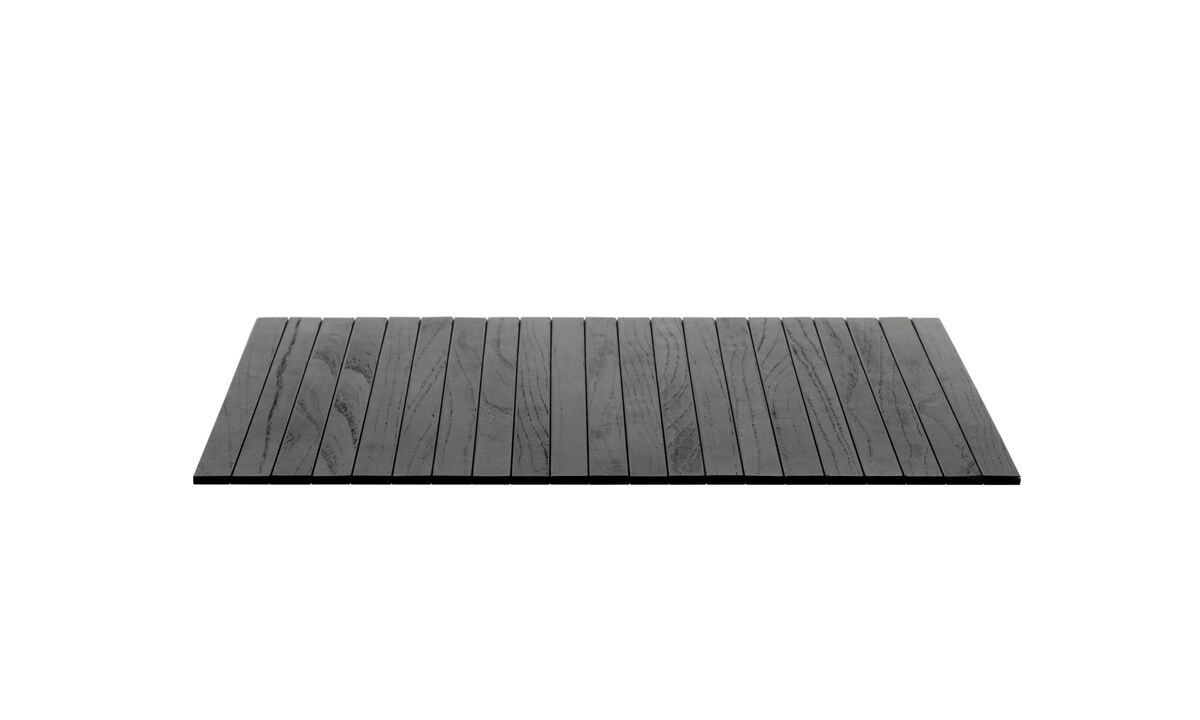 Sofa accessories - Tray - Black - Oak