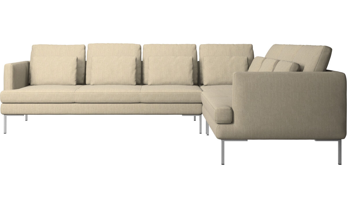 Corner sofas - Istra 2 corner sofa - Brown - Fabric
