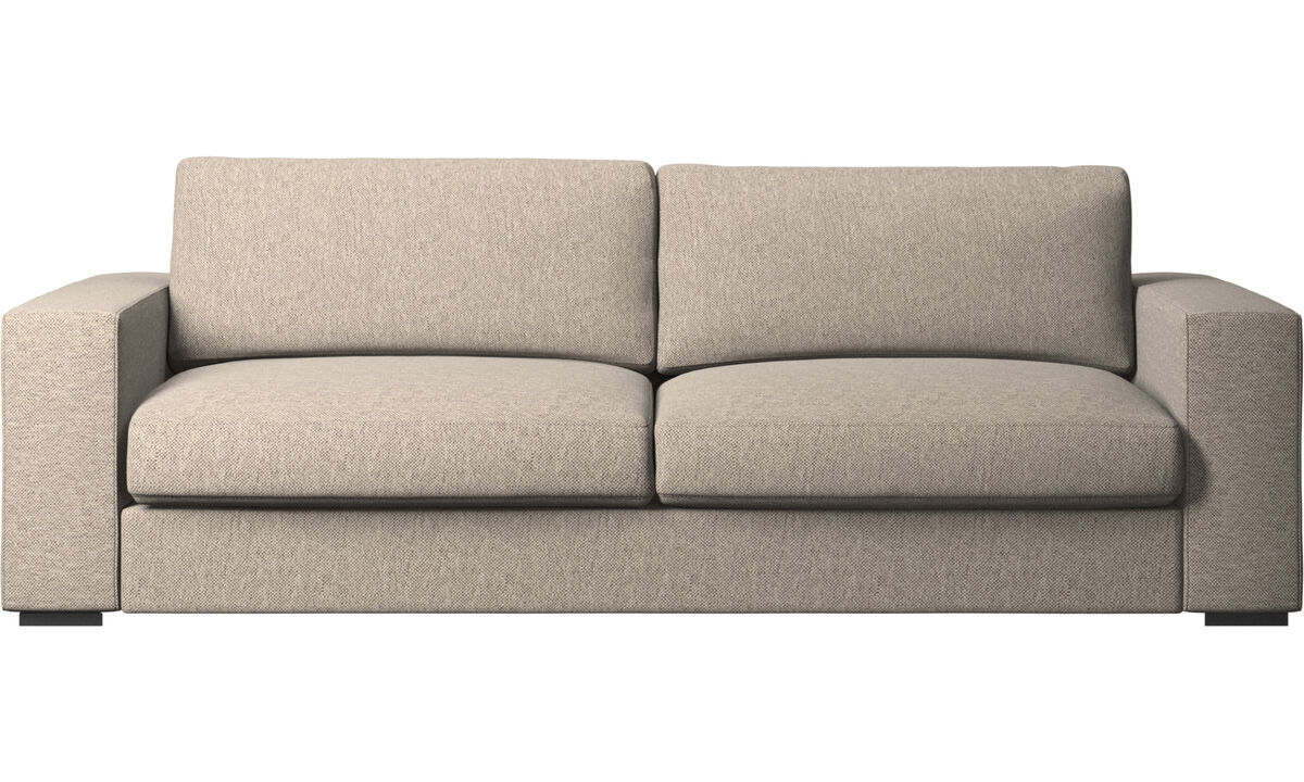 3 seater sofas - Cenova sofa - Beige - Fabric