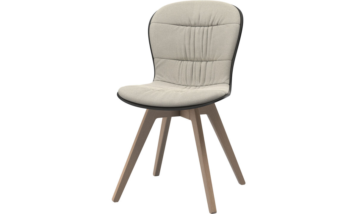 Dining chairs - Adelaide chair - White - Fabric