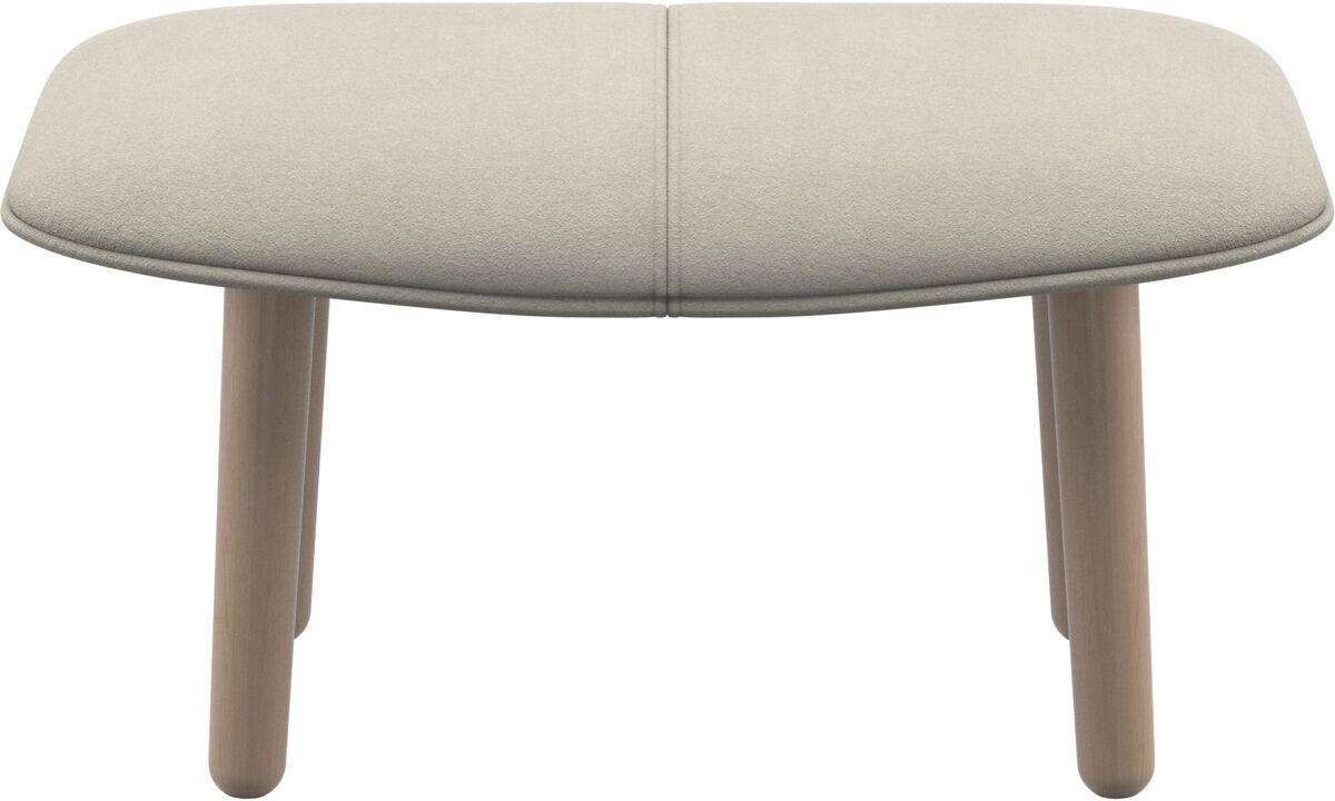 Footstools - fusion footstool - White - Fabric