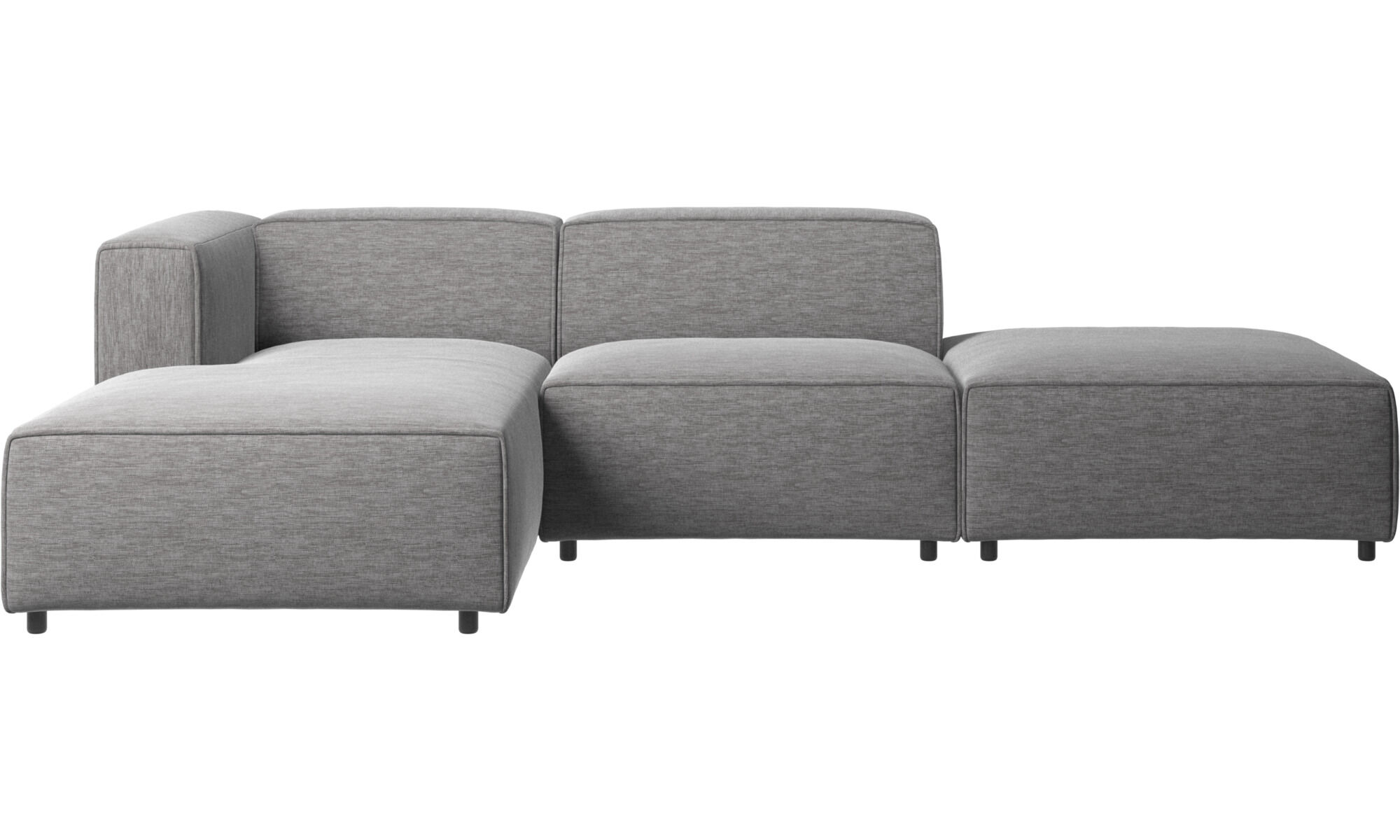 chaise lounge sofas carmo sofa with lounging and resting unit gray fabric