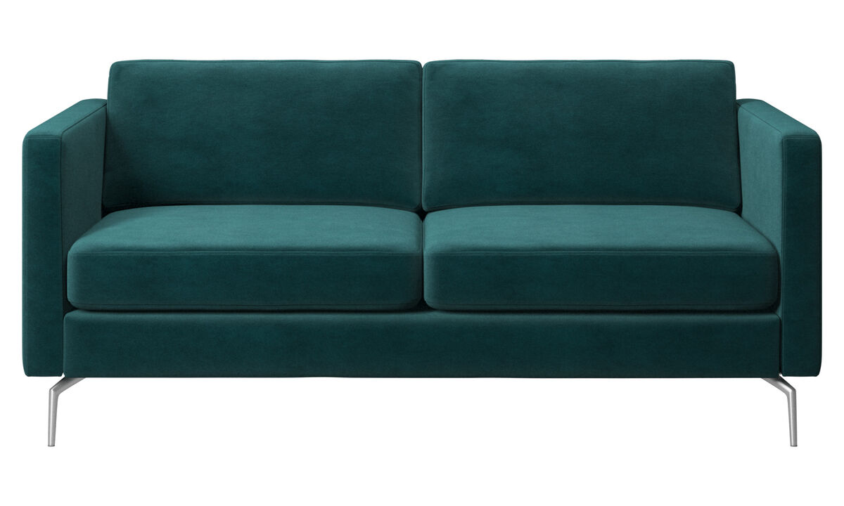 2-sits soffor - Osaka soffa, normal sits - Blå - Tyg
