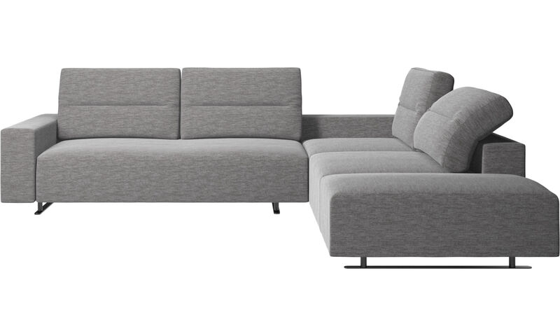 Corner sofas - Hampton corner sofa with adjustable back and ...