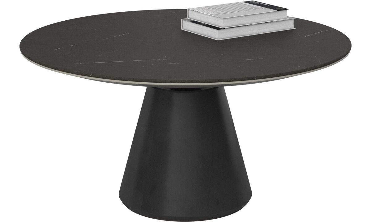 Mesas de centro - mesa de centro Madrid - redondo - En negro - Cerámica