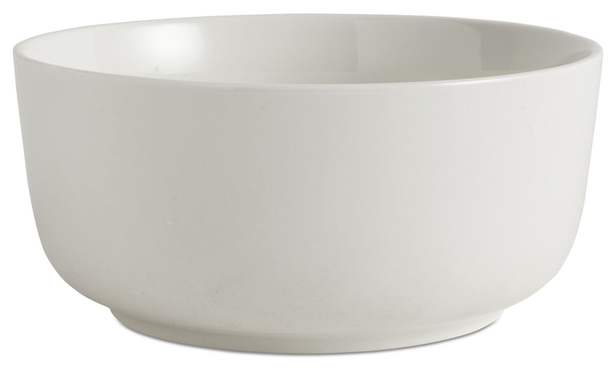 Dinnerware - nora salad bowl - White - Ceramic