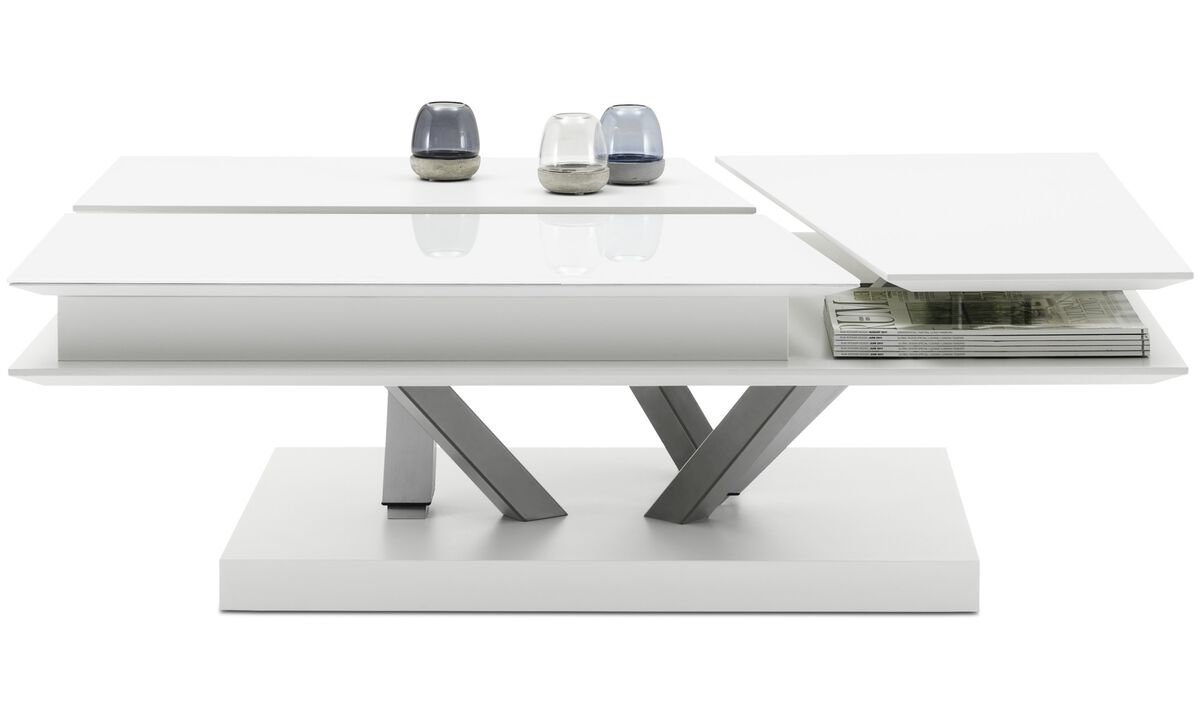 New designs - Barcelona functional coffee table with storage - square