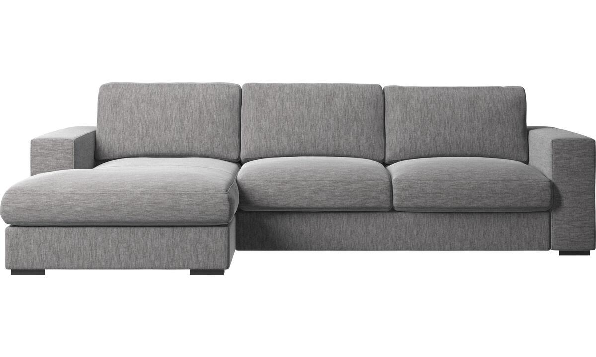 sofas mit r camiere cenova sofa mit ruhemodul boconcept. Black Bedroom Furniture Sets. Home Design Ideas