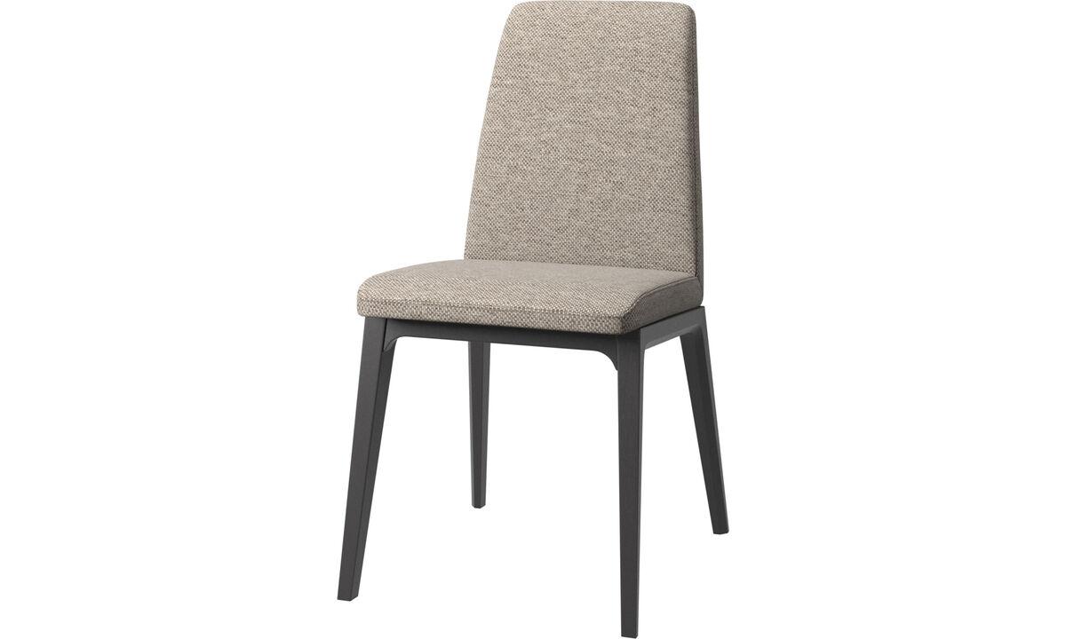 Krzesła do jadalni - Krzesło Lausanne - Beżowy - Tkanina