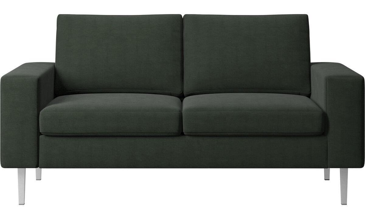 Kétszemélyes kanapék - Indivi kanapé - Zöld - Huzat