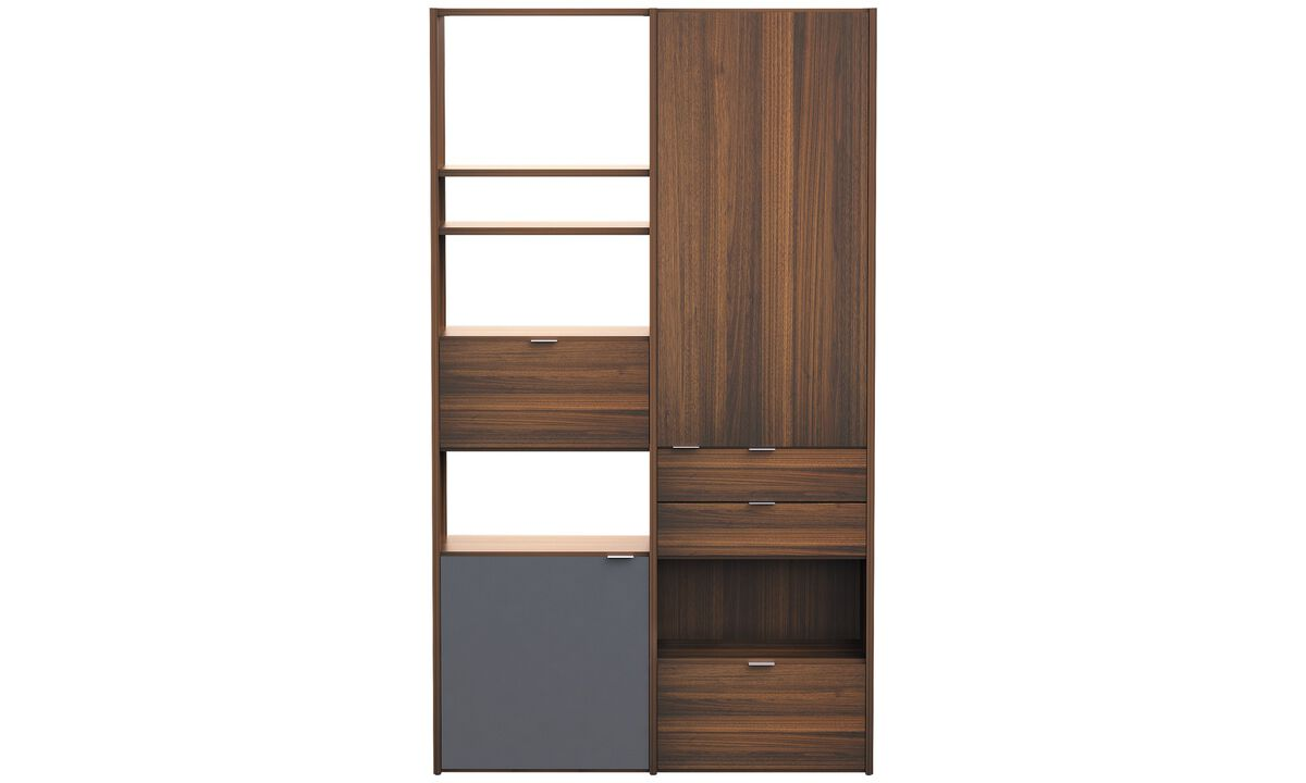 Wall Units - Copenhagen wall system - Brown