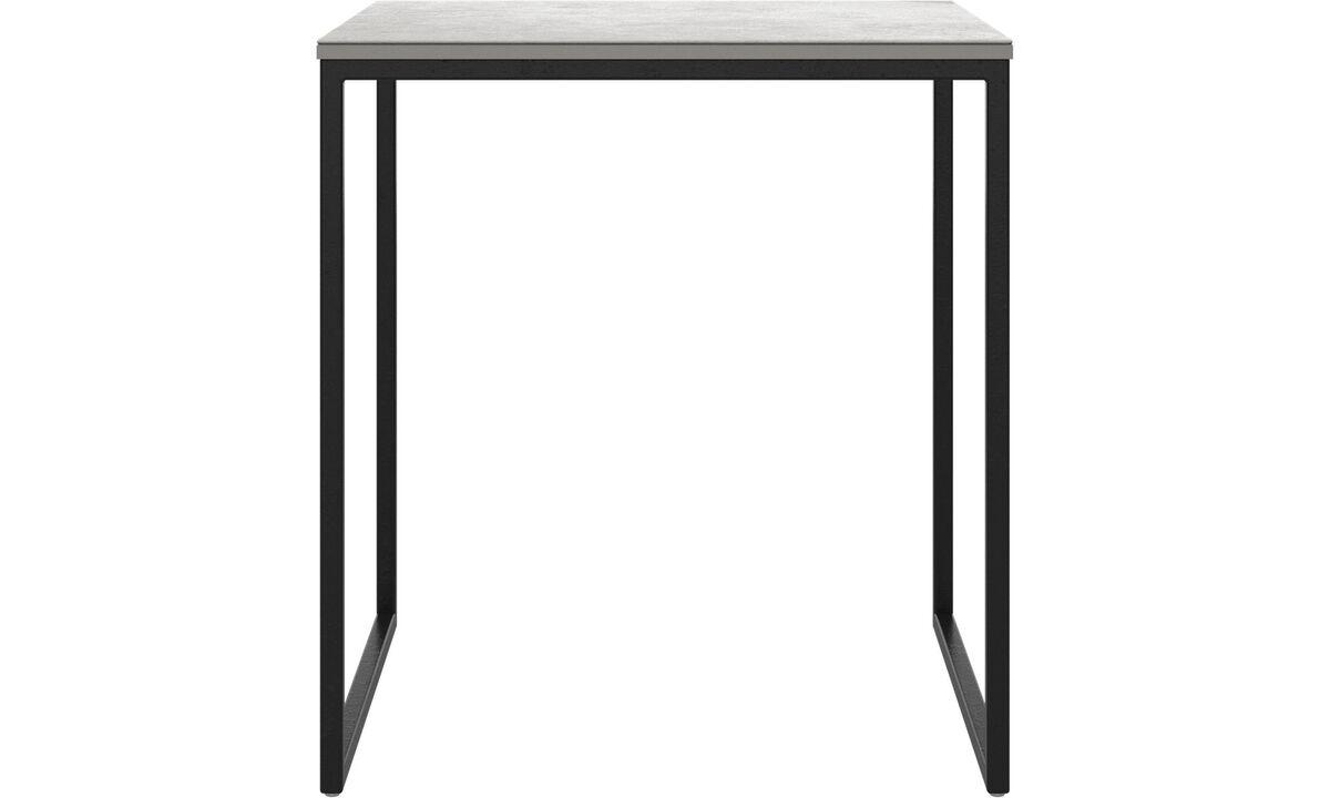 Mesas de centro - mesa de centro Lugo - cuadrada (if female noun) // cuadrado (if male noun) - En gris - Cerámica