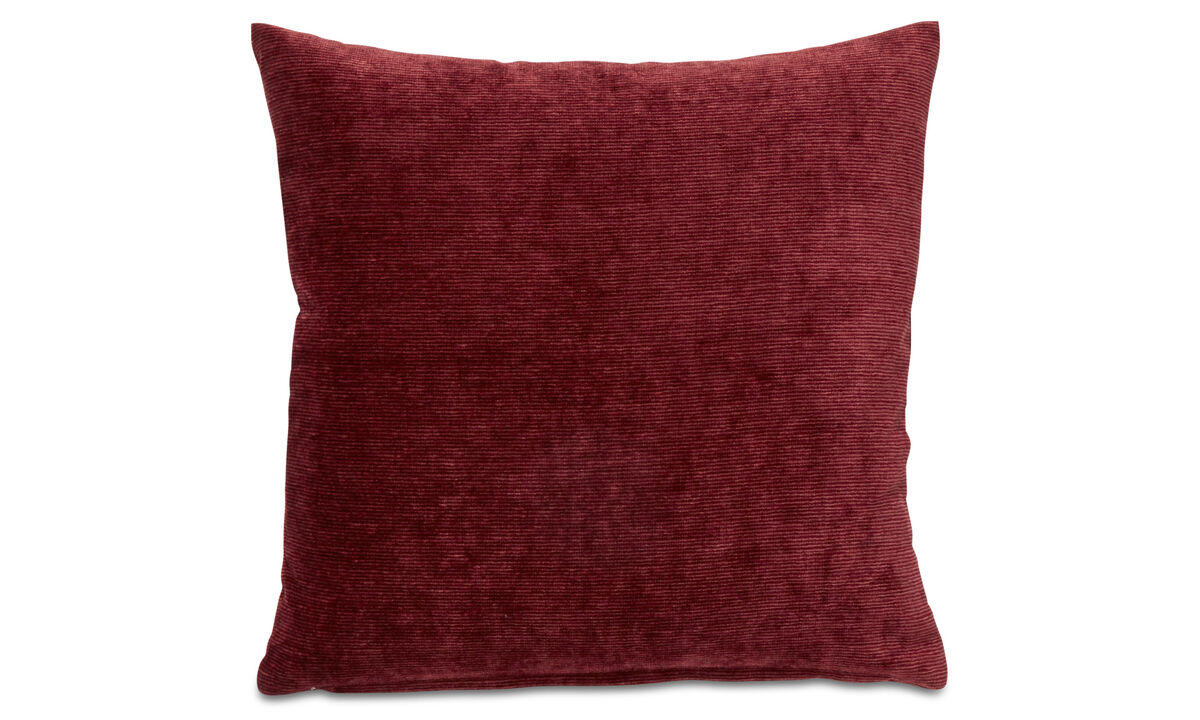 Cushions - Velvet rough cushion - Orange - Fabric