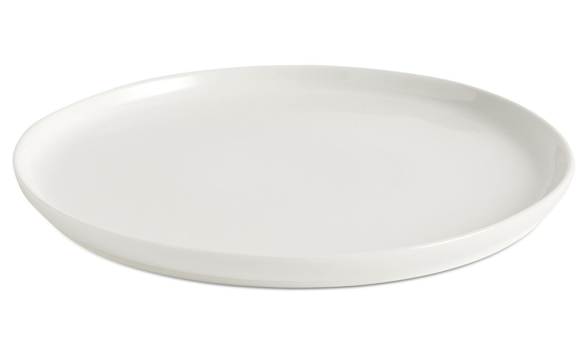 New designs - nora dinner plate - White - Ceramic