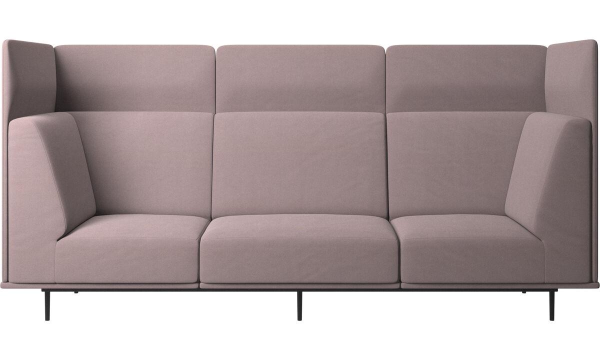 3 seater sofas - Toulouse divano - Viola - Tessuto