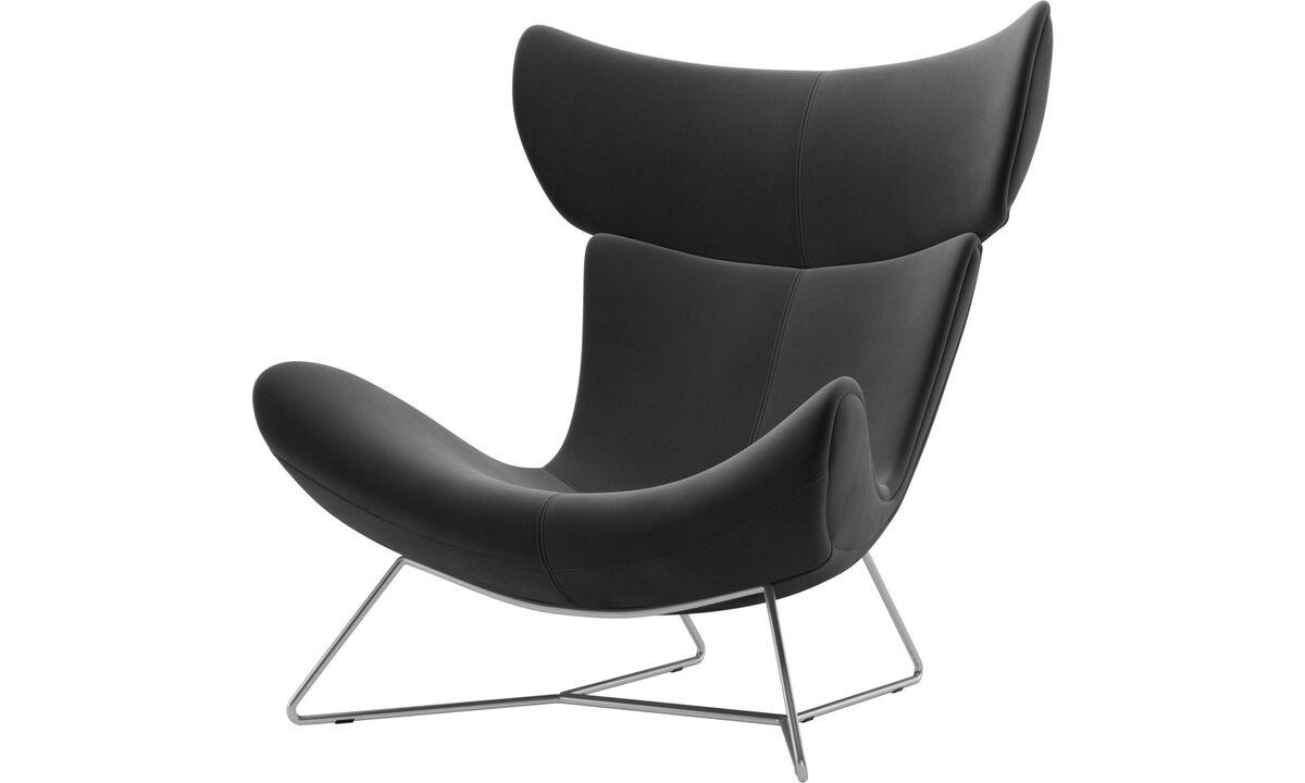 Armchairs - Imola chair - Black - Fabric