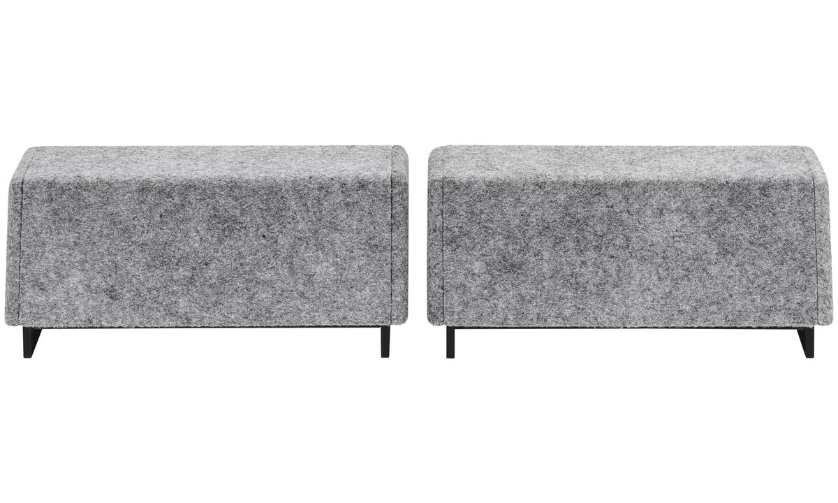Desks - Cupertino loudspeakers (set) - Grey - Speaker front