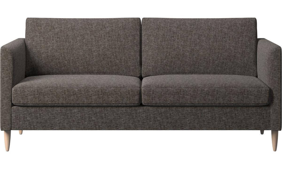 2.5 seater sofas - Indivi sofa - Brown - Fabric
