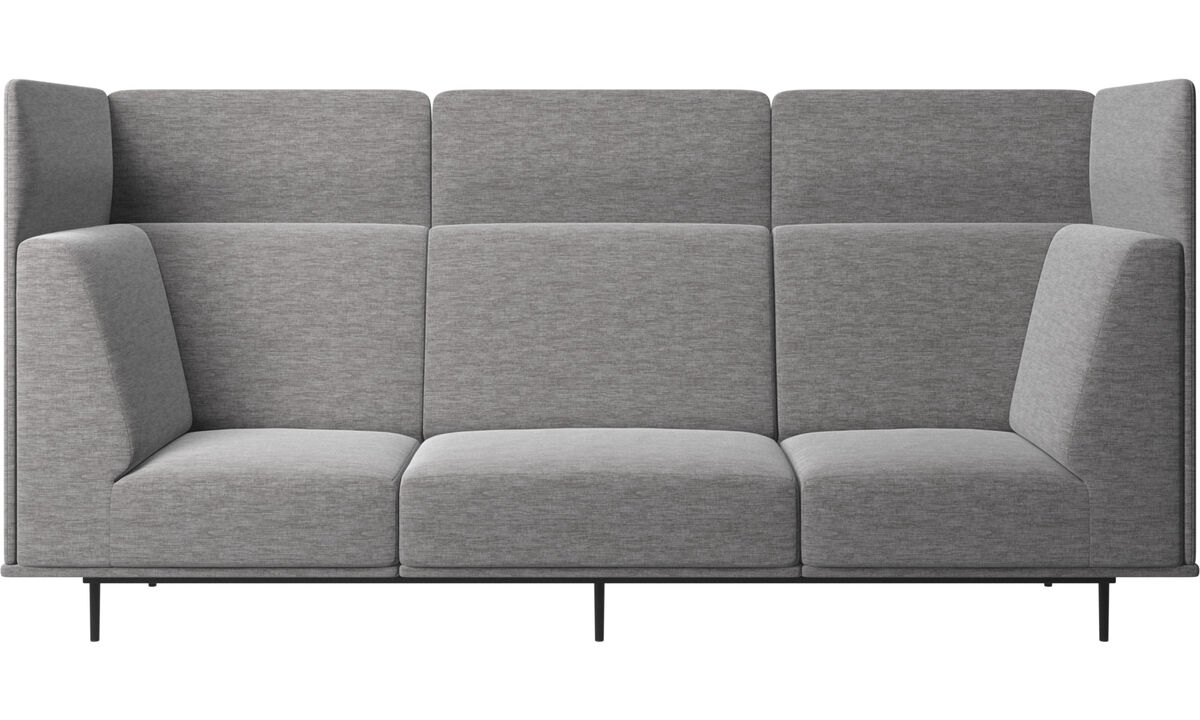 3 seater sofas - Toulouse sofa - Grey - Fabric