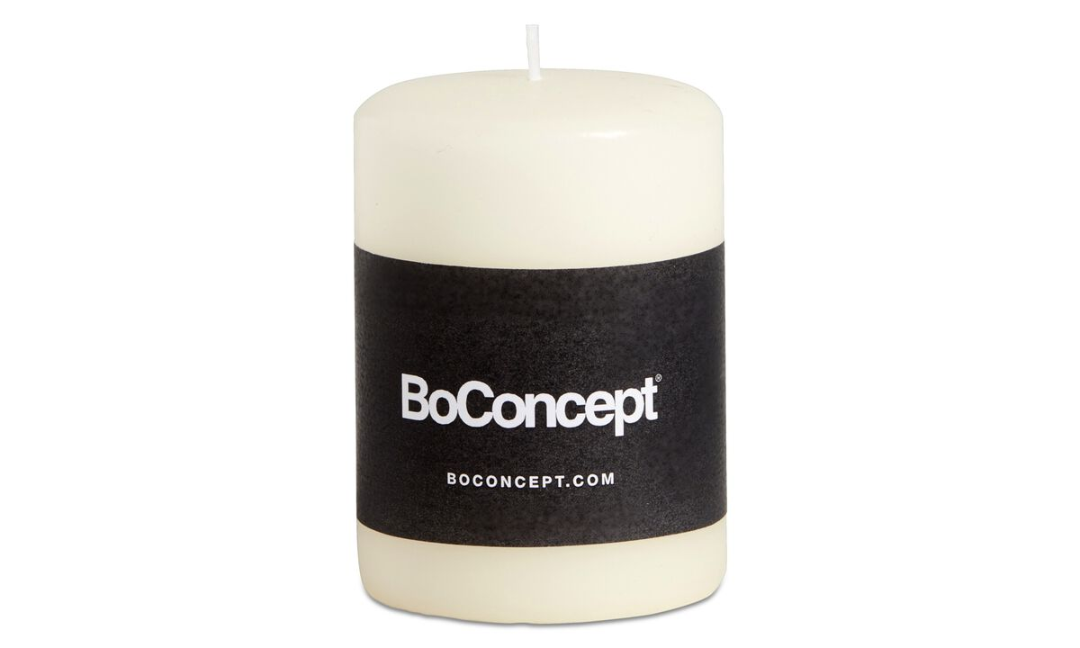 Dinnerware - Ro pillar candle - White - Paraffin